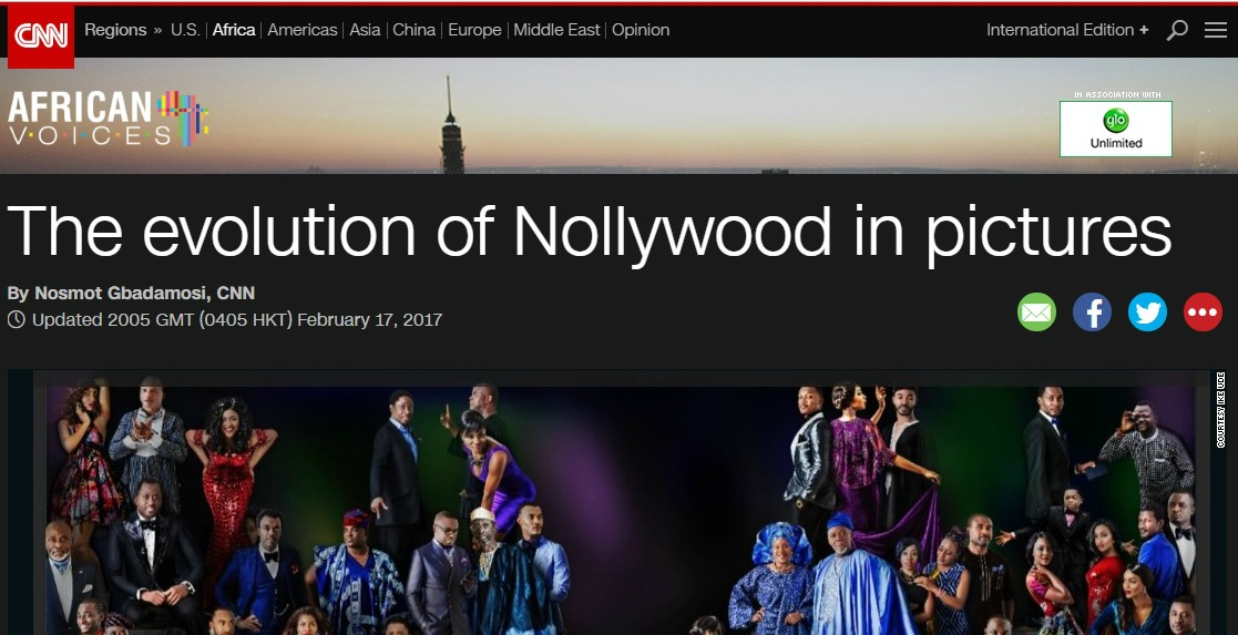 The Evolution of Nollywood by CNN…